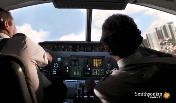 Preview thumbnail for video'1996 Brazilian Flight Crashes Seconds After Takeoff