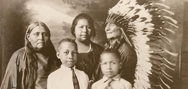An ancestry of african native americans history smithsonian researcher angela walton raji has been studying african native genealogy for over 20 years the comanche family pictured here is from the early 1900s ccuart Choice Image
