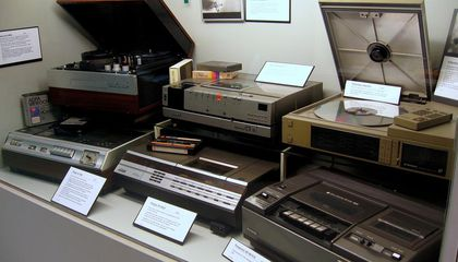 Why VHS and Five Other Formats May Live Forever