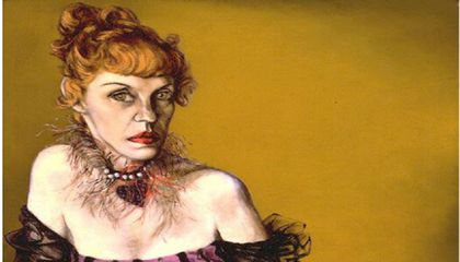 Lotte Lenya / Saul Bolasni /  c. 1954 / National Portrait Gallery, Smithsonian Institution / Gift of Lee Boltin