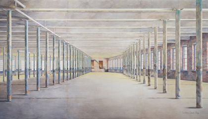 The Story Behind the World's Largest Watercolor Painting