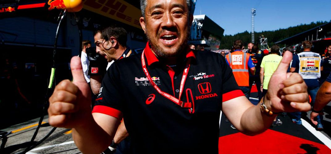 Crew member from Honda Team. Credit: Formula 1