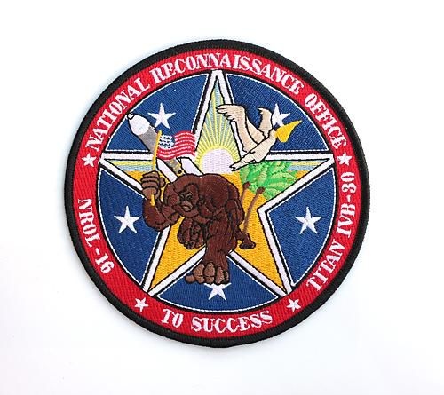 The Creepy, Kitschy and Geeky Patches of US Spy Satellite