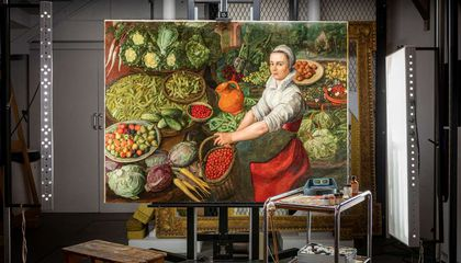 Why the Vegetable Seller in This 450-Year-Old Painting Isn't Smiling Anymore
