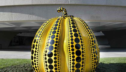 This Great Pumpkin Heralds the D.C. Arrival of Yayoi Kusama
