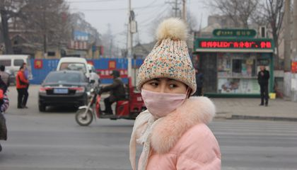 Dust May Help, Not Harm, Air Pollution in China