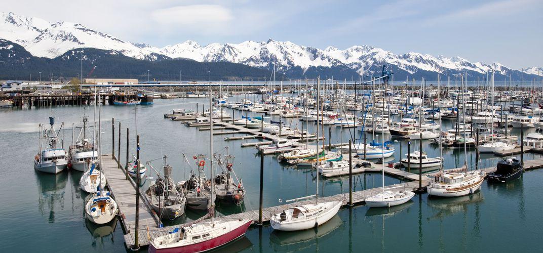 The marina at Seward