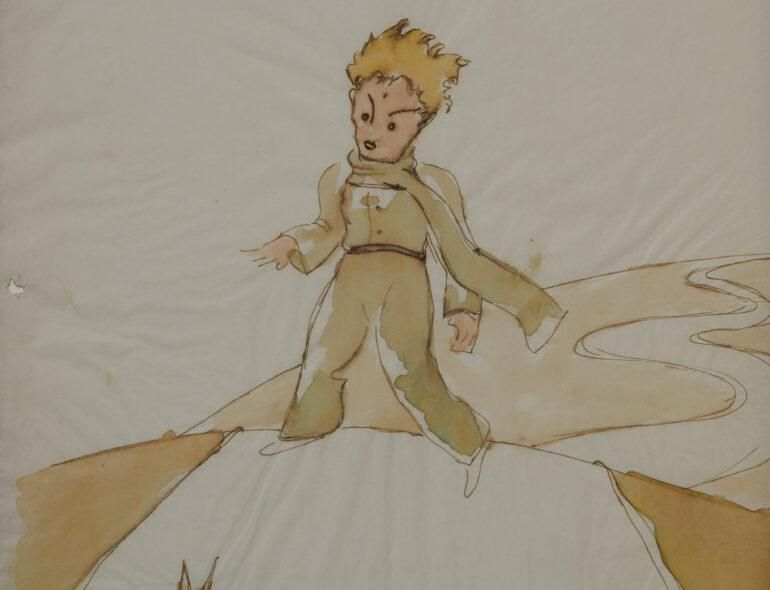 Early Sketches From 'The Little Prince' Found in Swiss Collection