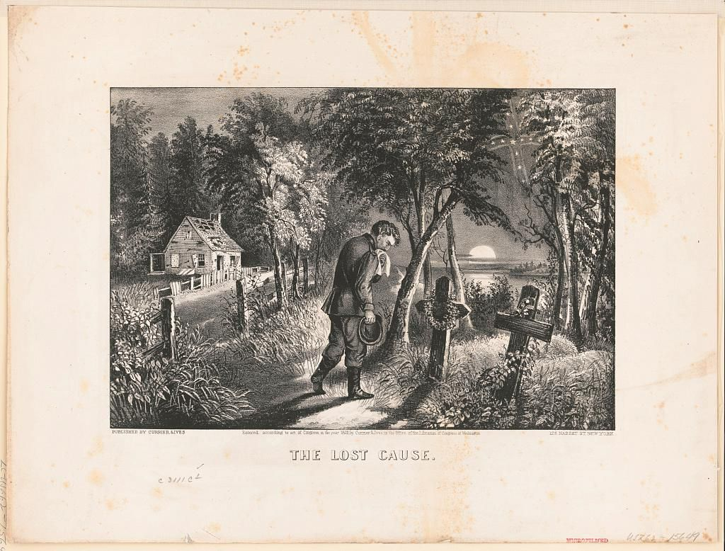 The Lost Cause Currier and Ives