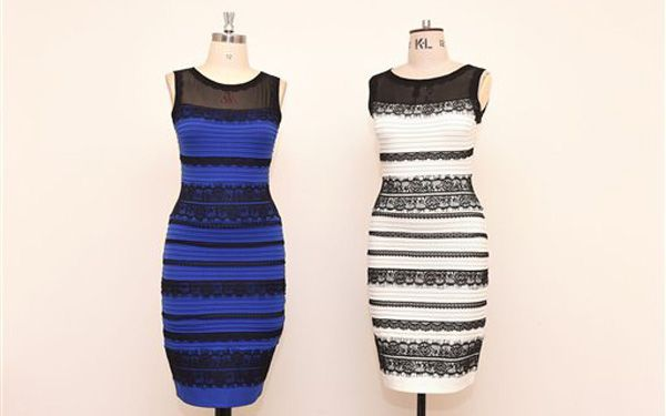 Was the dress black and blue or gold and white?