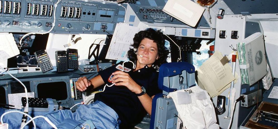 Caption: Sally Ride's Legacy for Women in STEM