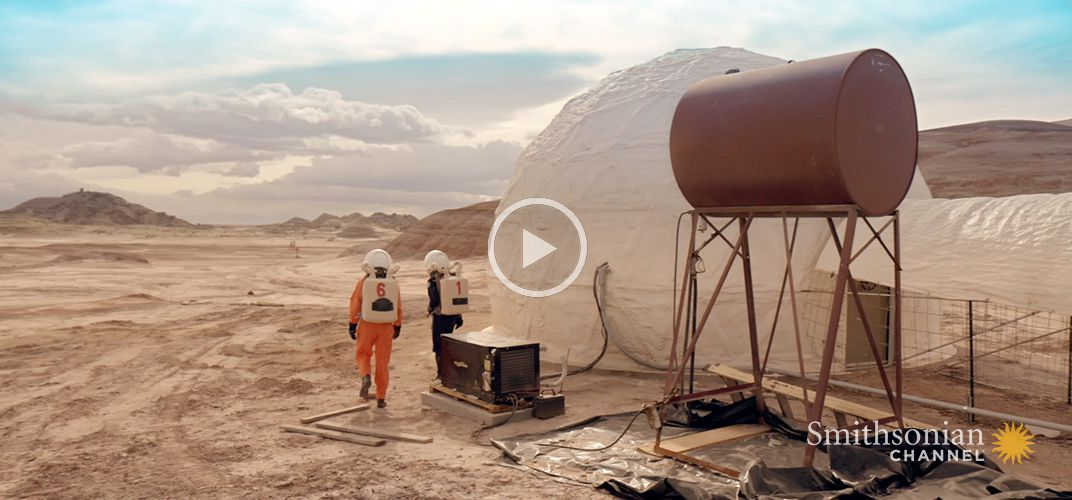 Caption: Inside Look at the Mars Simulation Project in Utah