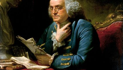 Ben Franklin Was One-Fifth Revolutionary, Four-Fifths London Intellectual