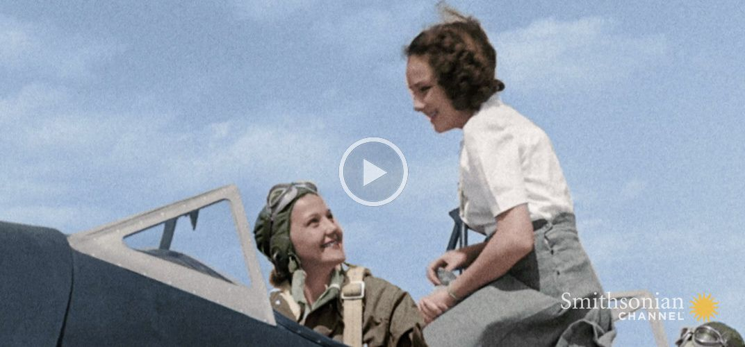 Caption: Women Proved to Be Exceptional Pilots During WWII