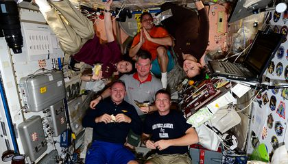 What Do Astronauts Eat on Thanksgiving?