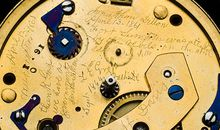 Abraham Lincolns pocket watch with hidden engraving