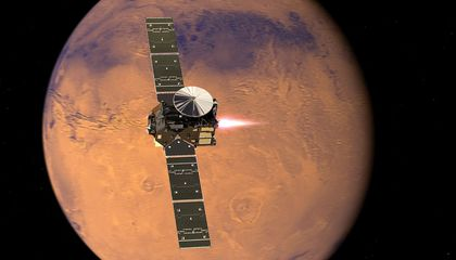Mission to Find Life on Mars Blasts Off