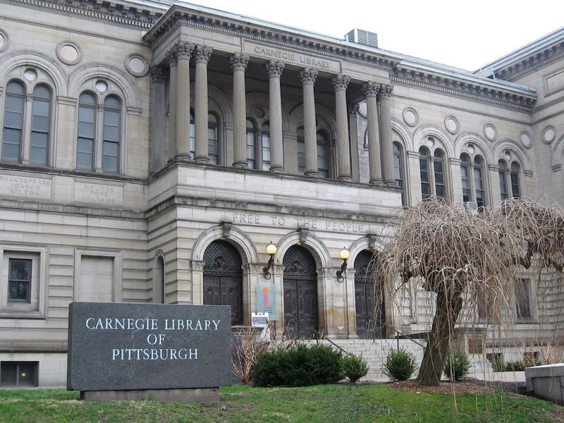Image result for carnegie library pittsburgh