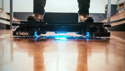 Watch As a Real-Life Hoverboard Whirs to Life