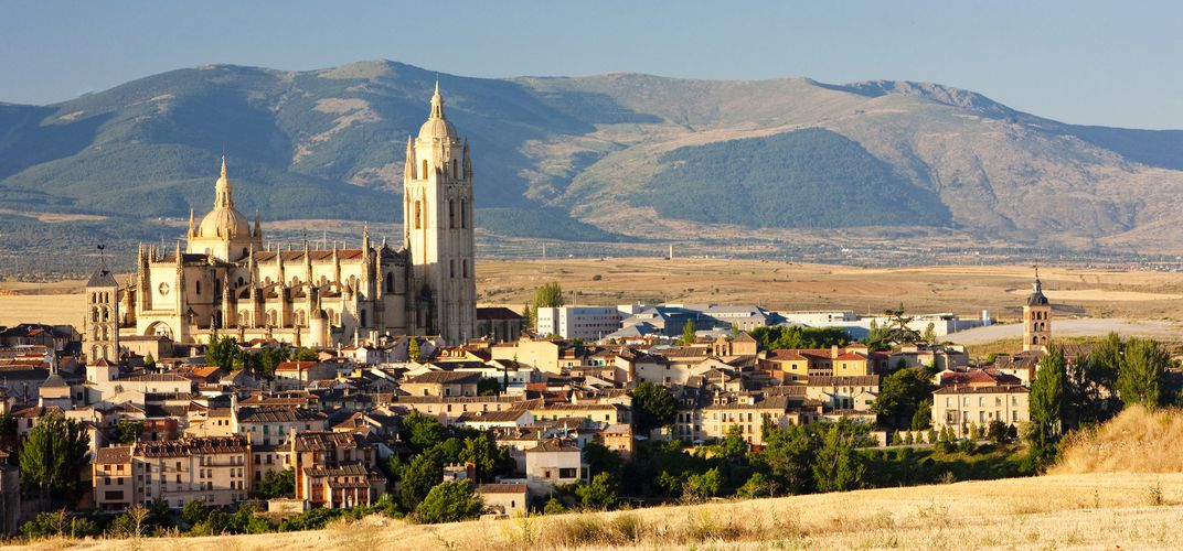 The medieval town of Segovia