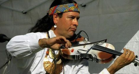 This Wednesday, hear the original sounds of Arvel Bird as he performs a blend of Celtic and Native American music.