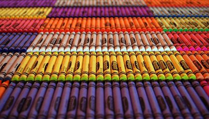 Crayola Has At Least 16 Different Names For What Most of Us Would Call 'Orange'