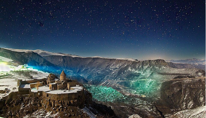 Star-Studded Photos Reveal the Beauty of Armenia's Ancient Landscapes