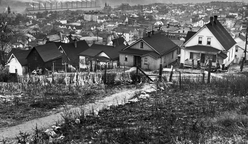 The mill town of Donora, where a smoky, lethal fog killed 19 people.