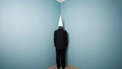 People Used to Wear Dunce Caps to Shower