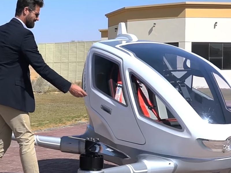 Are Dubai's Drone Taxis For Real? | Articles | Air & Space