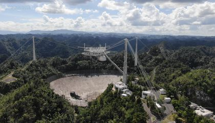 After Suffering Irreparable Damage, It's Lights Out for the Arecibo Observatory's Iconic Telescope