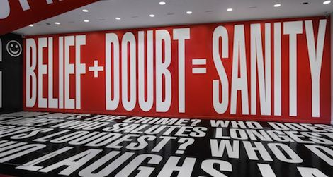 Twitter users will have the chance to chat live with artist Barbara Kruger.