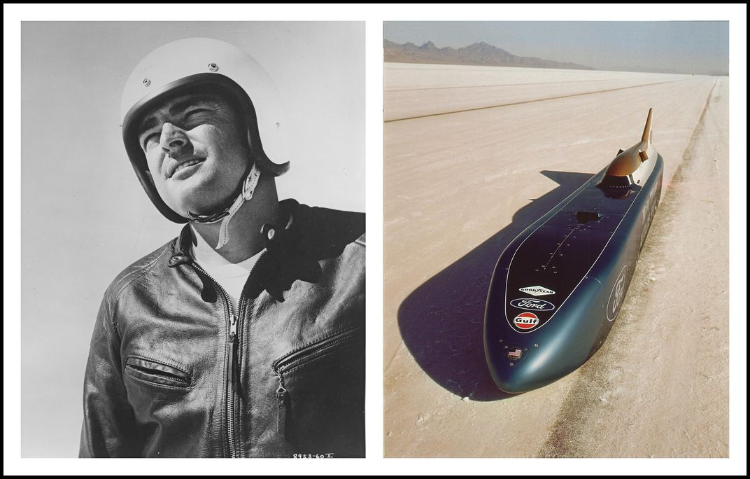 Mickey Thompson diptych