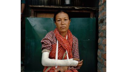 Captivating Photos of the Survivors of the Nepal Earthquake