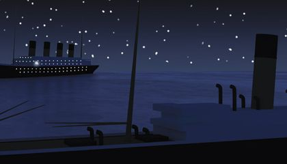 Did the Titanic Sink Because of an Optical Illusion?