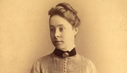 The Woman Who Bested the Men at Math