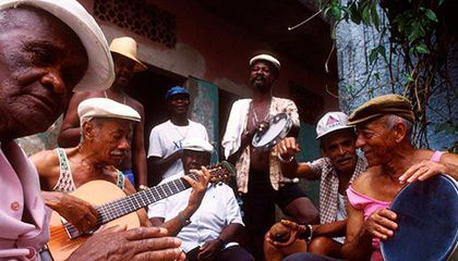 Samba singers and composers