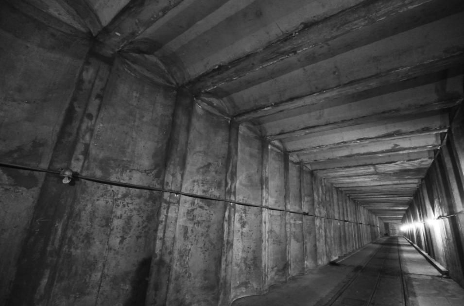 The Southeast Tunnel Of What Is Now Called The Dupont Underground Pat Padua