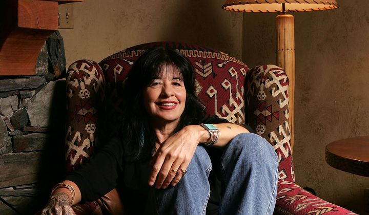 Joy Harjo's New Poetry Centers Native Issues