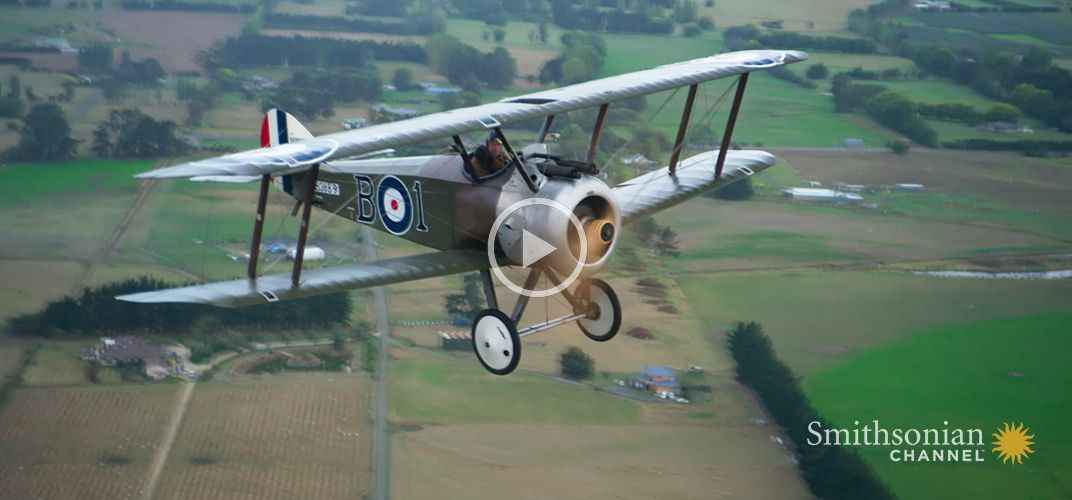 Caption: Here's How You Can Fly One of Peter Jackson's WWI Planes