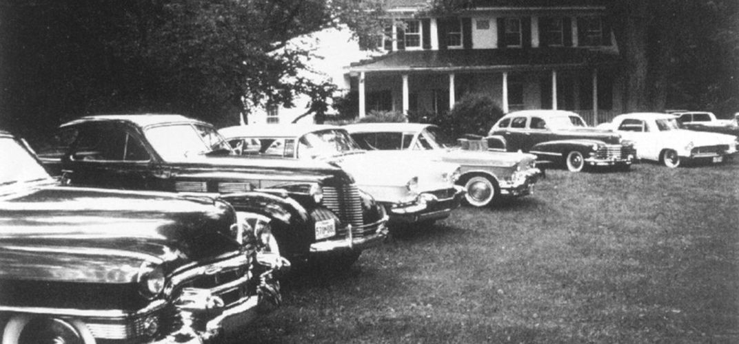 Caption: The Apalachin Meeting Exposed the American Mafia