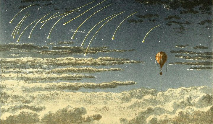 The First Balloon Trips and the 'Aeronauts' Movie