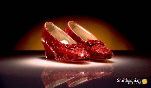 Preview thumbnail for video'Dorothy's Ruby Slippers Were Originally Silver