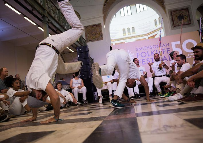 Caption: Capoeira: Martial Art to International Dance