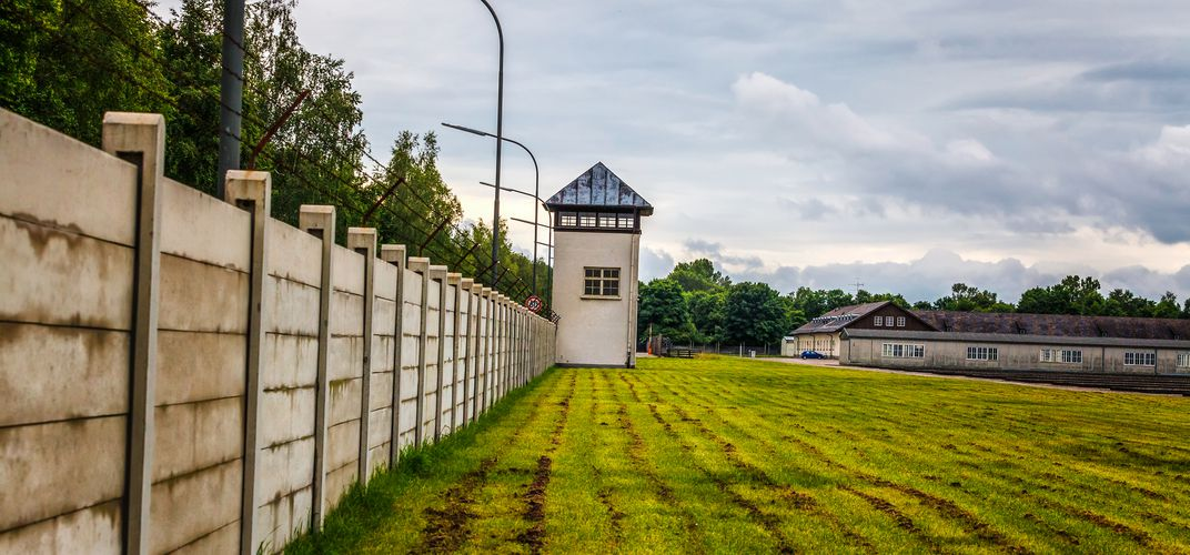 Watchtower at Dachau