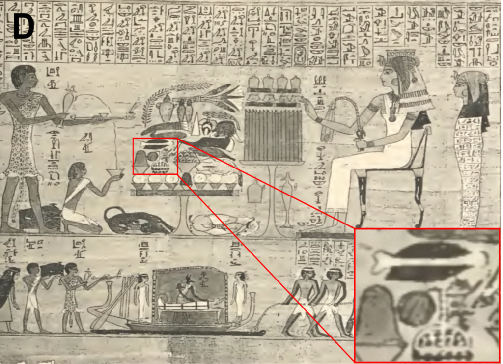 painting found in an Egyptian tomb