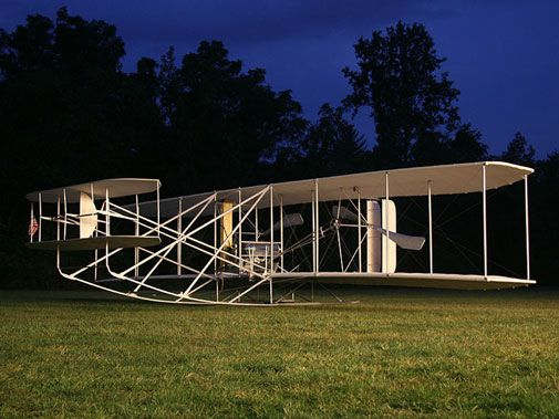 A century-old Wright Flyer comes to life this weekend in Virginia.