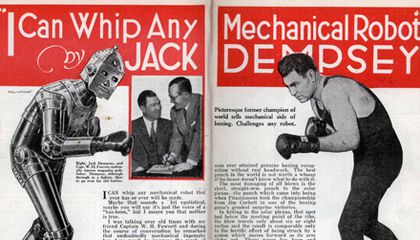 Boxing Robots of the 1930s