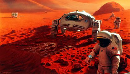 Selecting a Landing Site for Humans on Mars