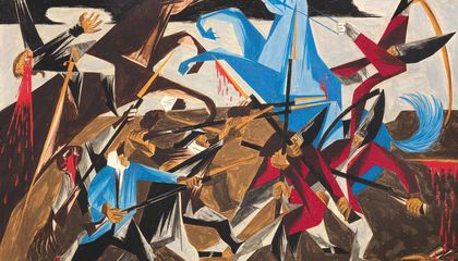 How Jacob Lawrence Painted a Radical History of the American Struggle